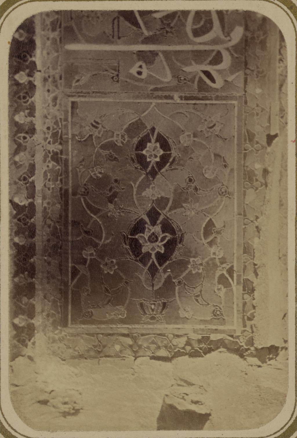 Мавзолей Ша-Арап. Отделка стен мавзолея