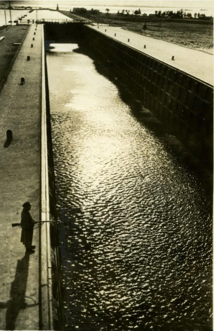 1935. Беломорский канал