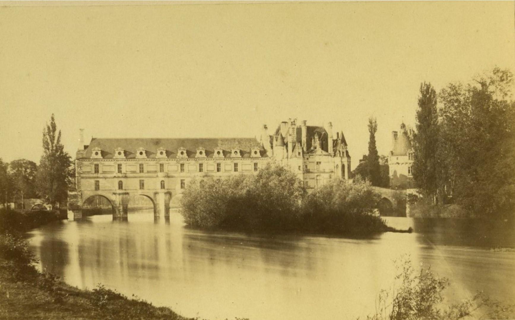1860-е. Замок Блуа