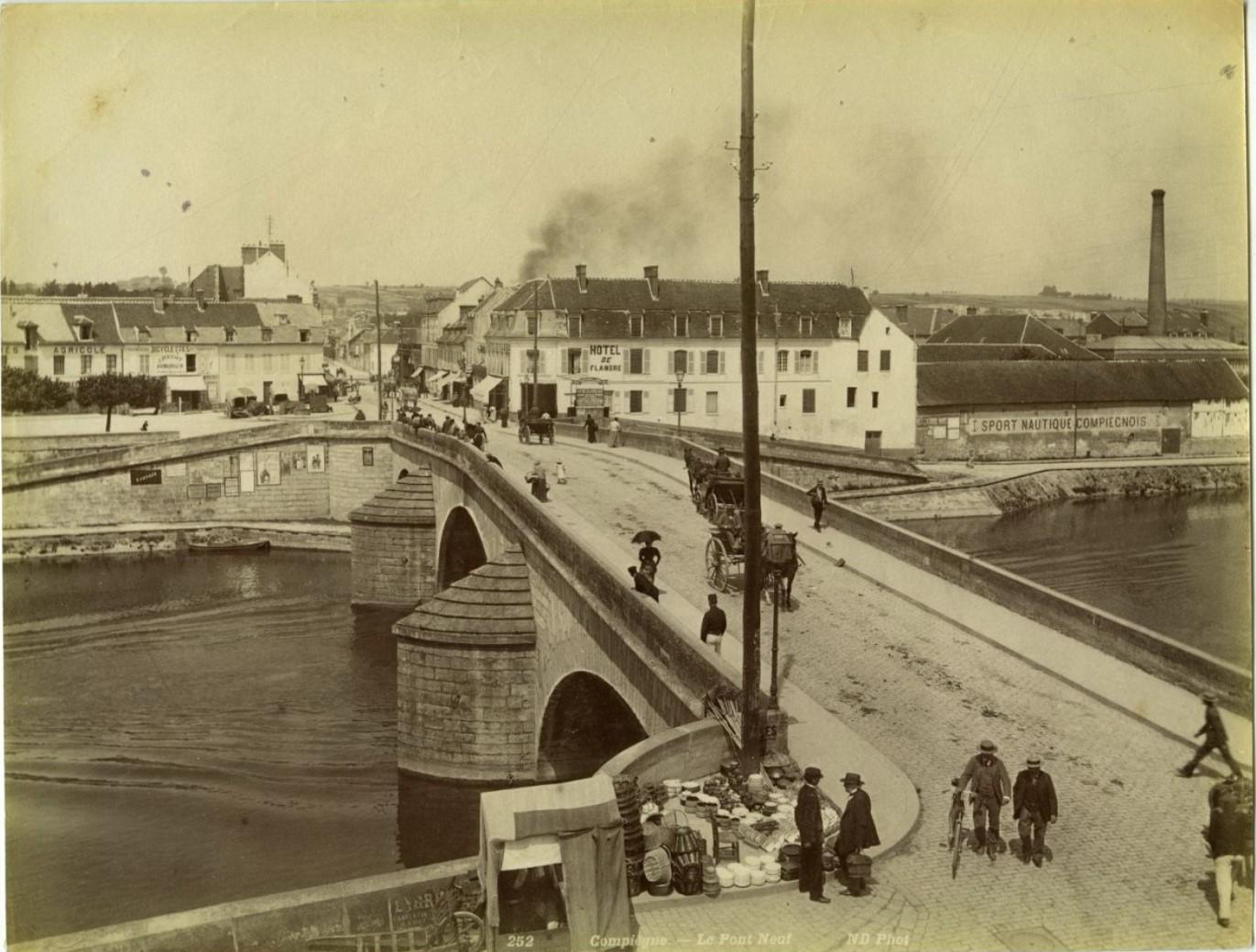 1860-е. Компьен. Пон-нёф