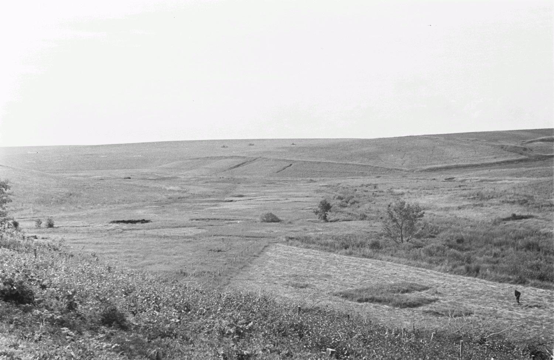 Пейзаж в окрестности деревни