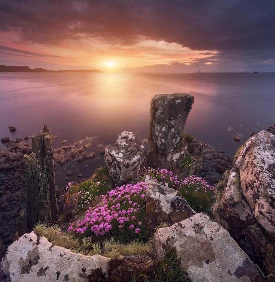 Остров Скай, западный берег