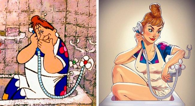 андрей тарусов героин героини героиня мультфильм мультфильмы художники ярко