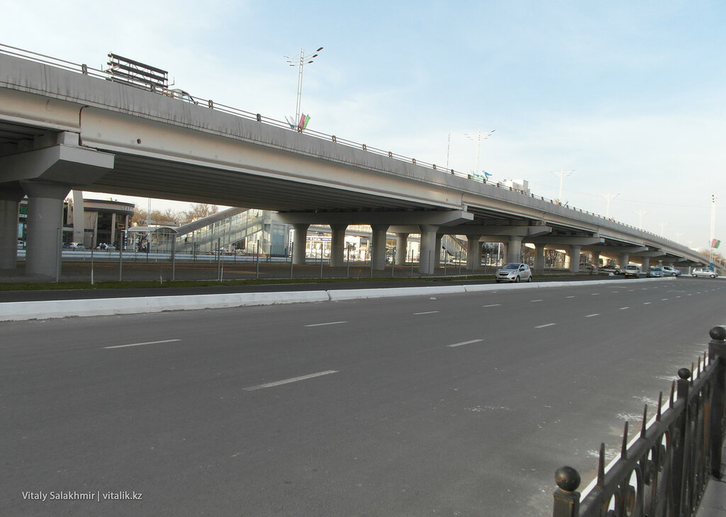 Мост через Мукими в Ташкенте, Чиланзар