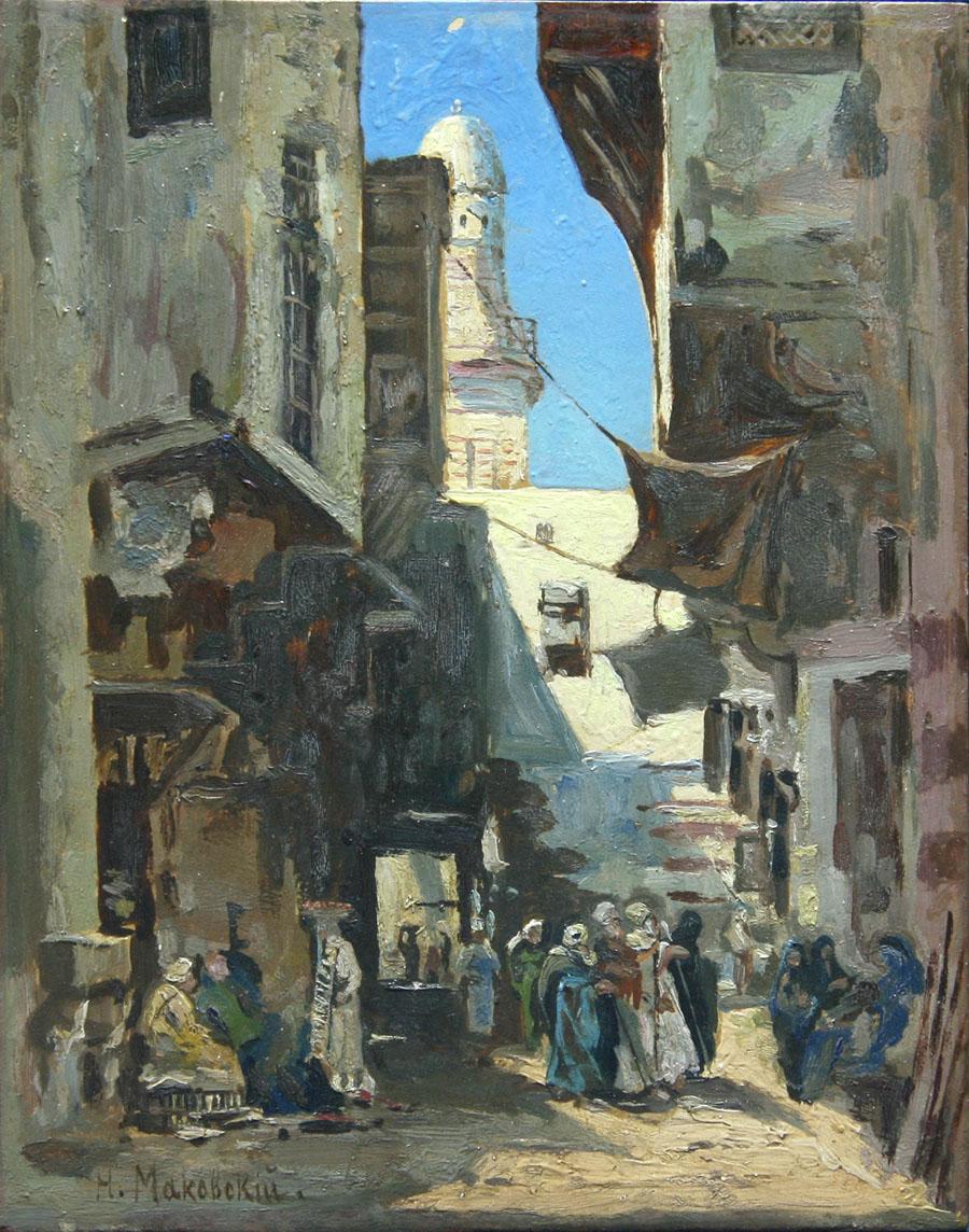 Улочка в Каире.