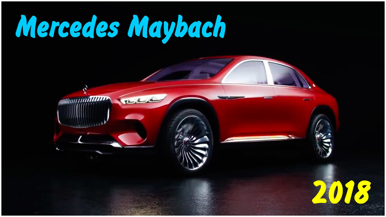 Премьера внедорожника Mercedes Maybach 2018