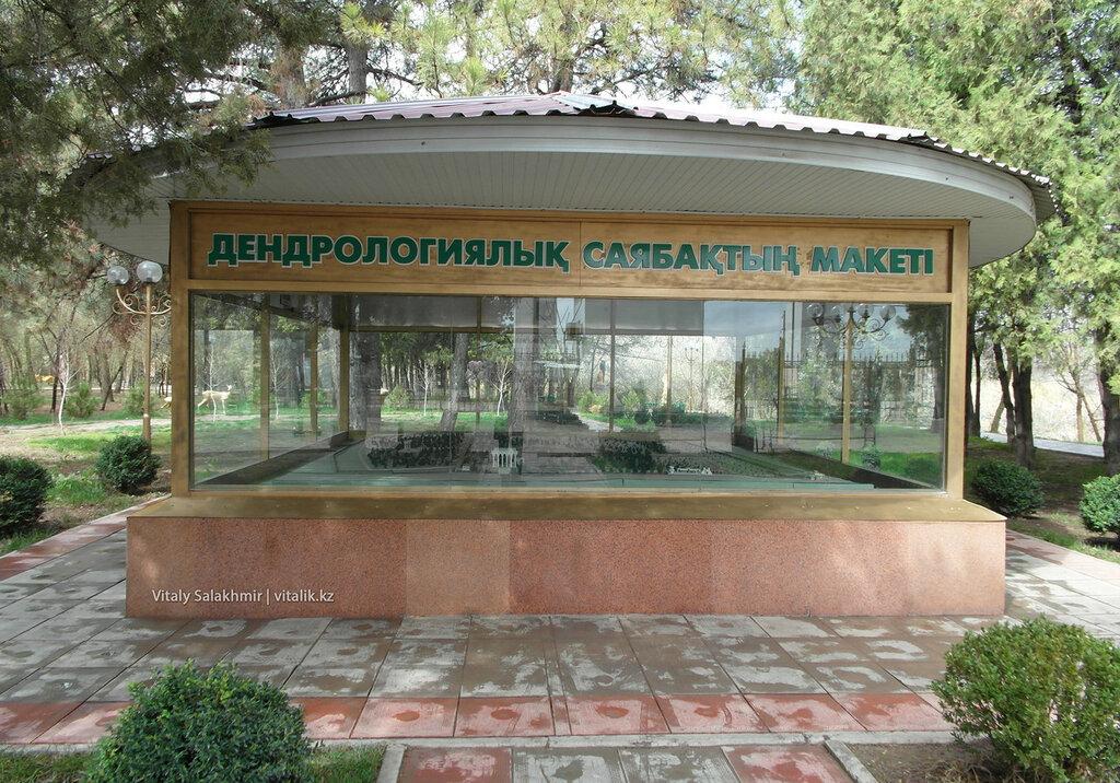 Макет дендропарка Шымкент