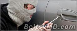 В канун праздников участились автомобильные кражи