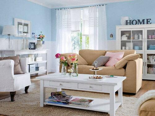 Как обновить дизайн интерьер гостиной?