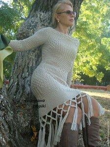 Фата-Моргана - вечно меняющееся платье спицами