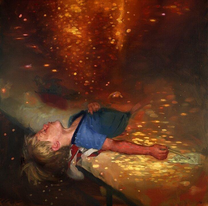 Живопись Джошуа Флинта. Призрачные концепты окружающих нас сюжетов и образов. 20 картин