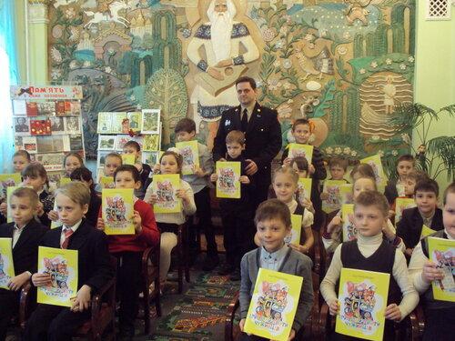 Встреча с автором книги, новости нашего отдела, Игорь Гончаренко, Іграшки проти чужинців, встреча с автором детской книги в библиотеке