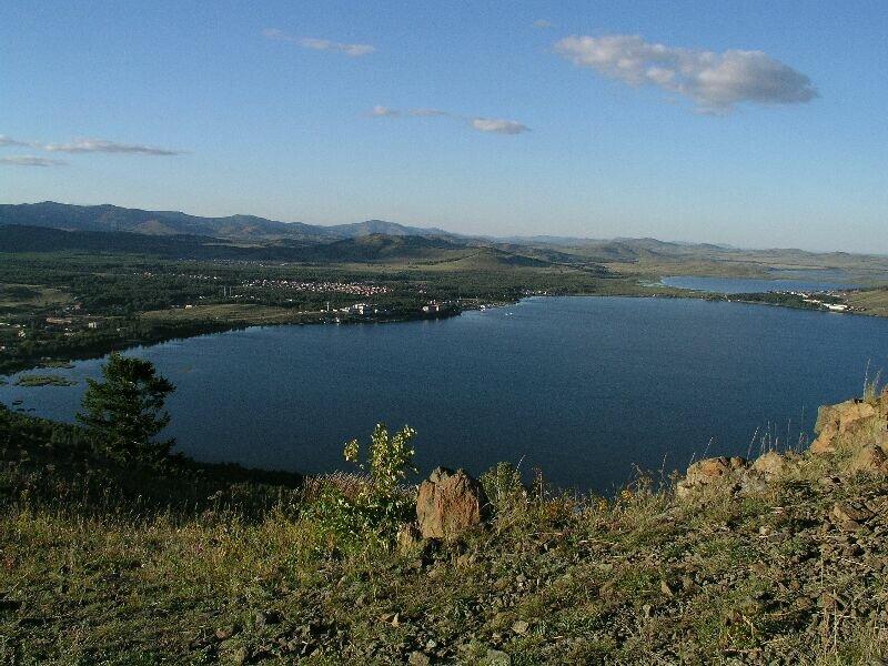 Панорама озера (05.08.2013)