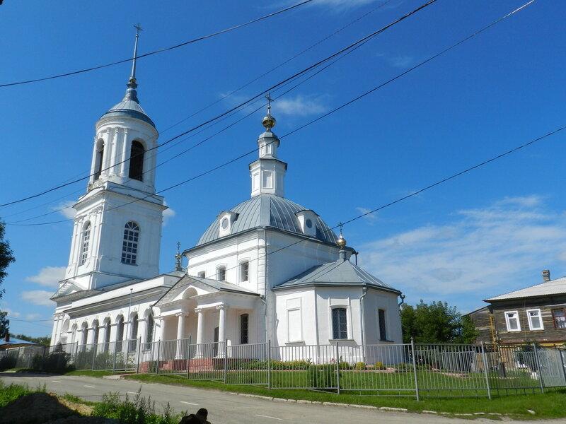 Церковь во имя иконы Смоленской Божией Матери