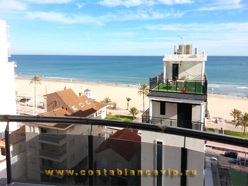 квартира в Gandia, Квартира в Гандии, квартира на пляже, квартира на второй линии, недвижимость в Испании, квартира в Испании, недвижимость в Гандии, Коста Бланка, CostablancaVIP, цена, квартира, апартаменты на пляже, новостройка, апартаменты в новом доме