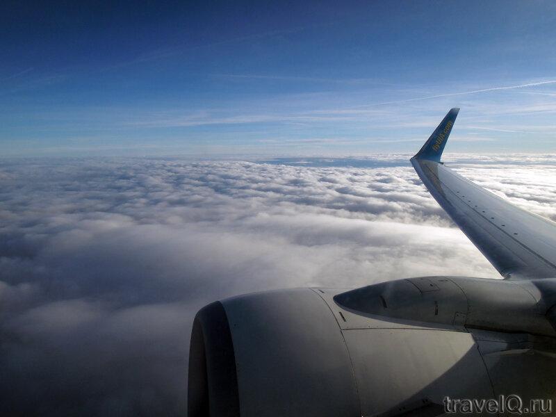 Полет авиакомпанией Украинские авиалинии