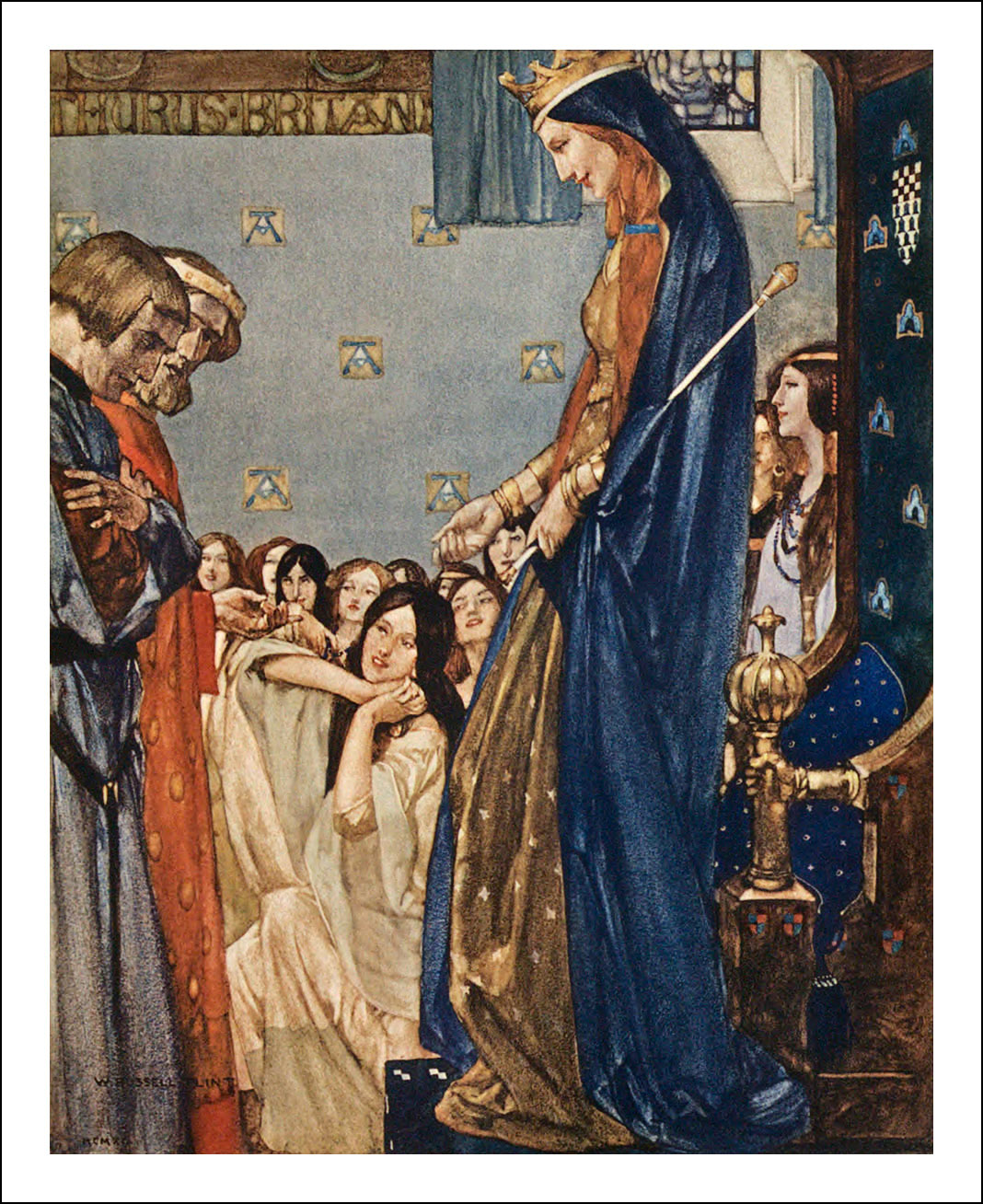 William Russell Flint, Le morte Darthur