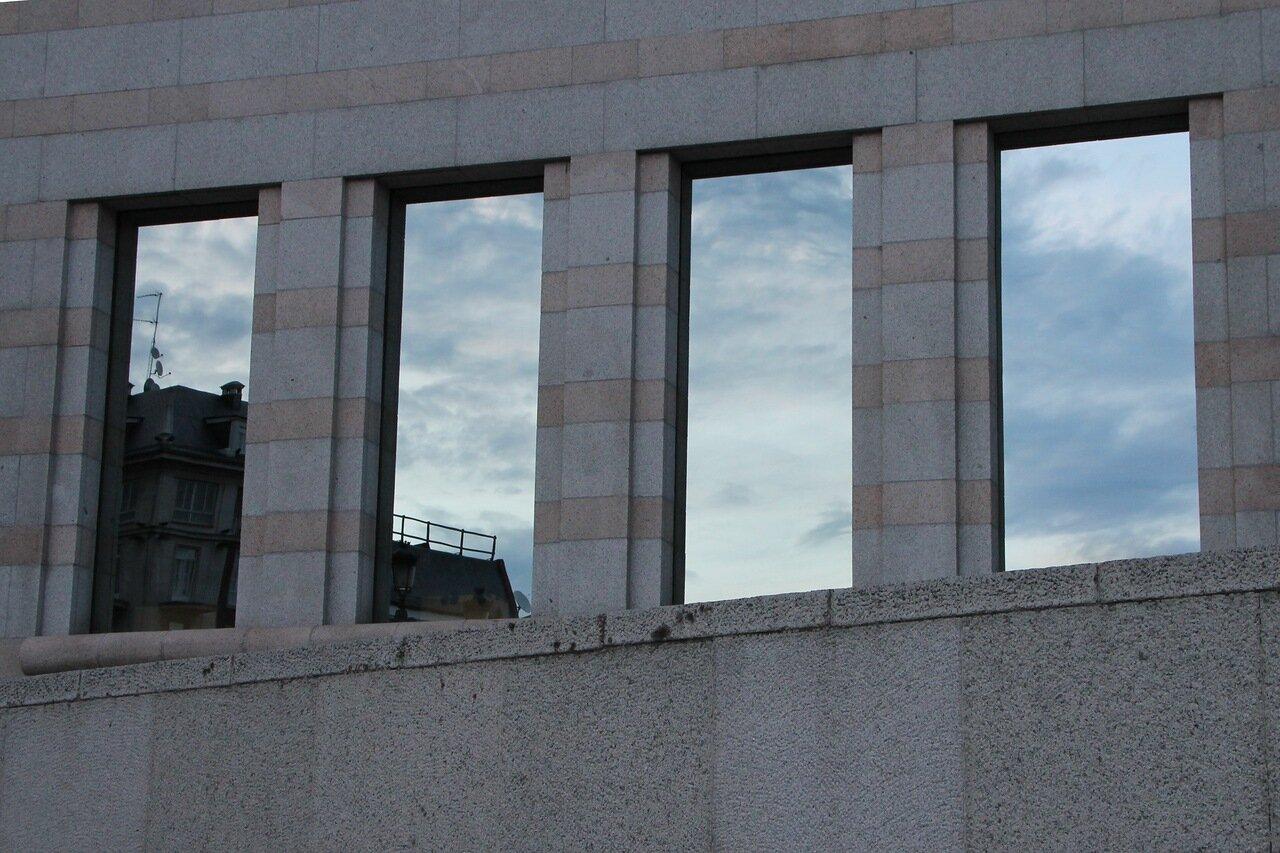 Мадрид. Здание Сената Испании