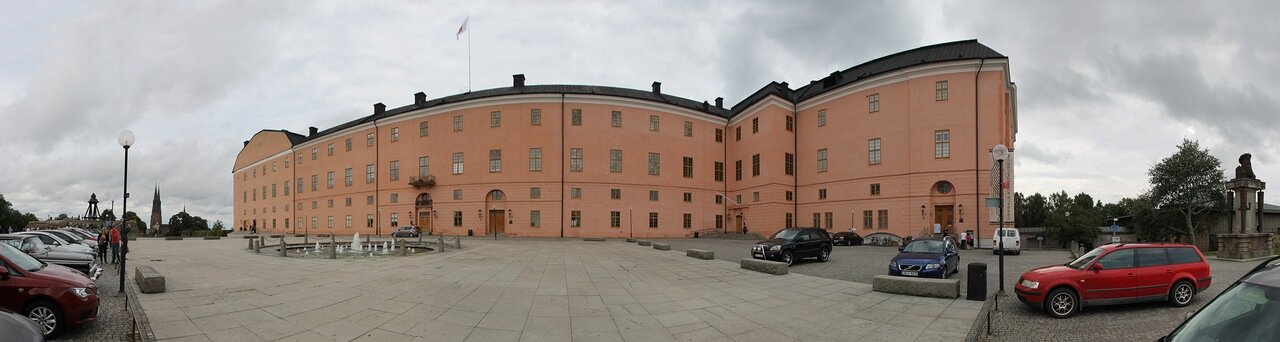 Уппсала. Uppsala. Королевский замок. Uppsala Slott. Uppsala Castle.