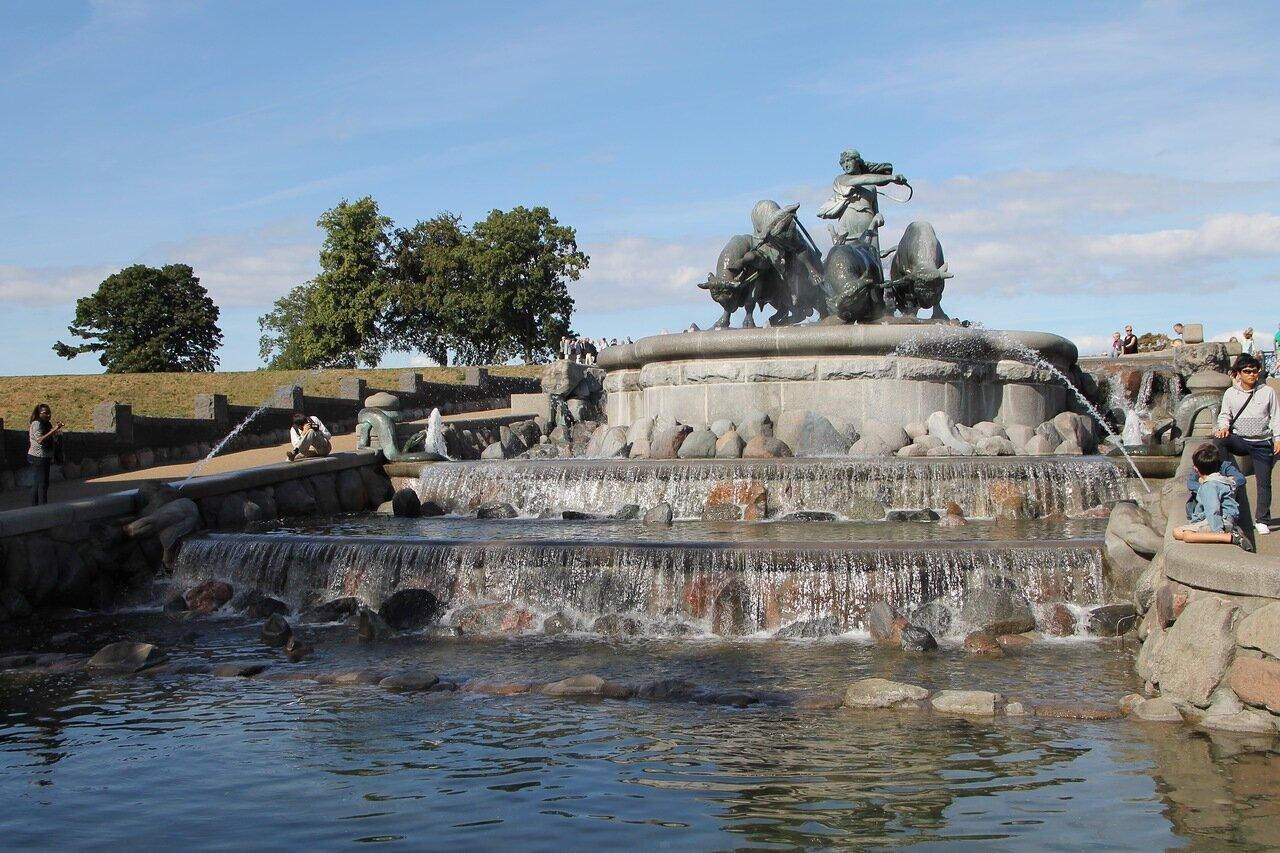 Copenhagen. Gefion fountain (Gefionspringvande)
