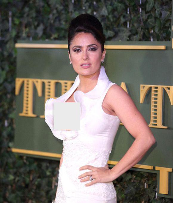 Платье Сальмы Хаек