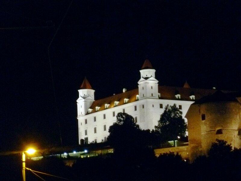 Словакия, Братиславский град (Slovakia, Bratislava Castle)
