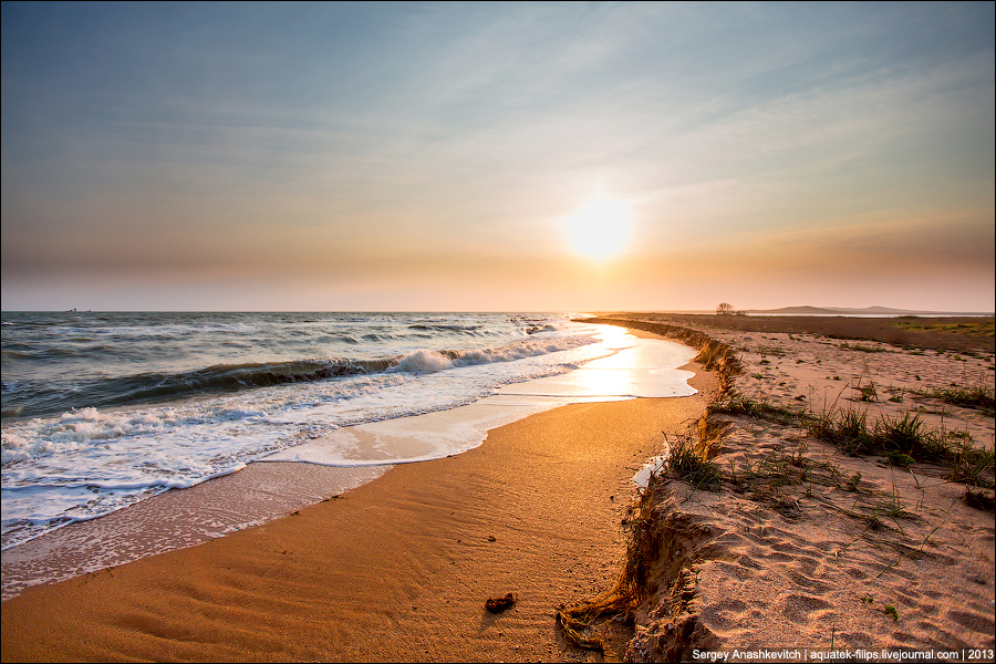 Оргазм закатного моря