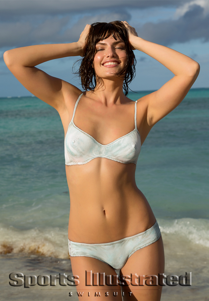 Алисса Миллер / Alyssa Miller - Body Paint / Sports Illustrated Swimsuit 2013