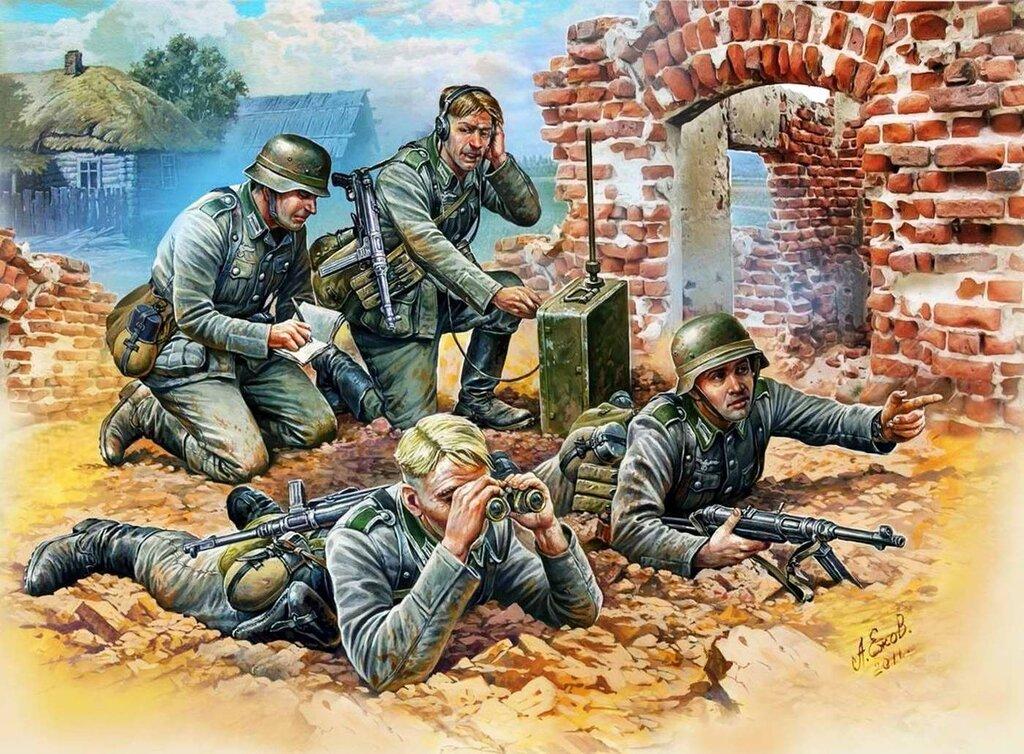 Немецкие разведчики (Александр Ежов)