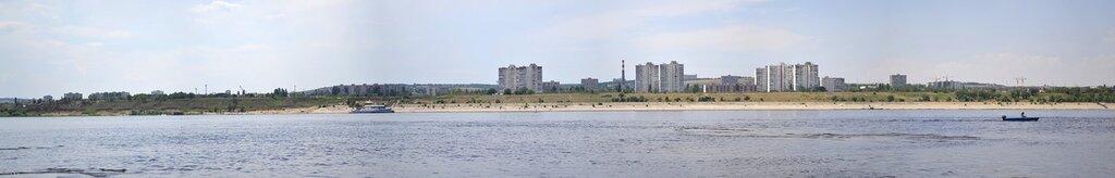 Панорама набережной им. Высоцкого. Кировский р-он.