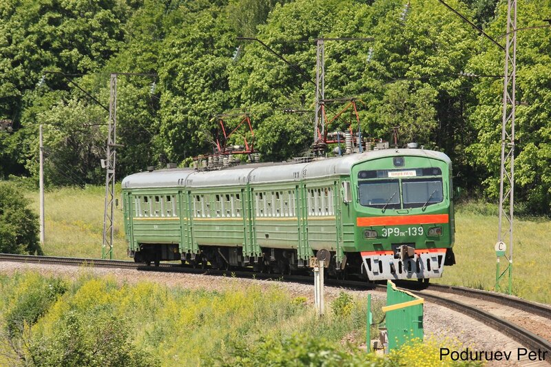 ЭР9пк-139 у пл Кремлёво