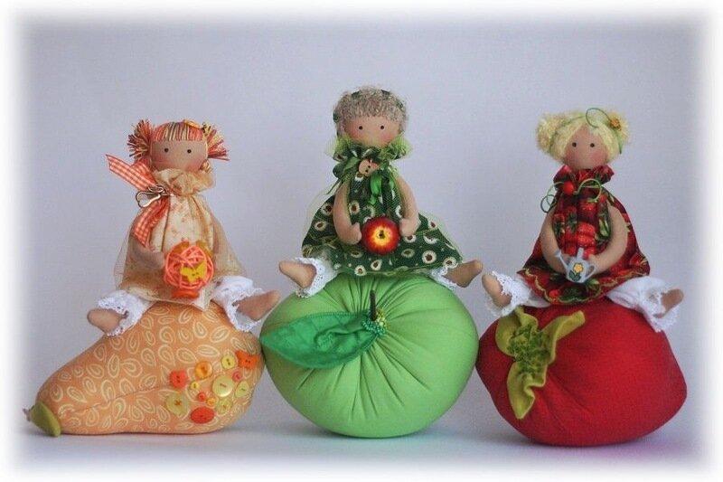фруктовые куколки