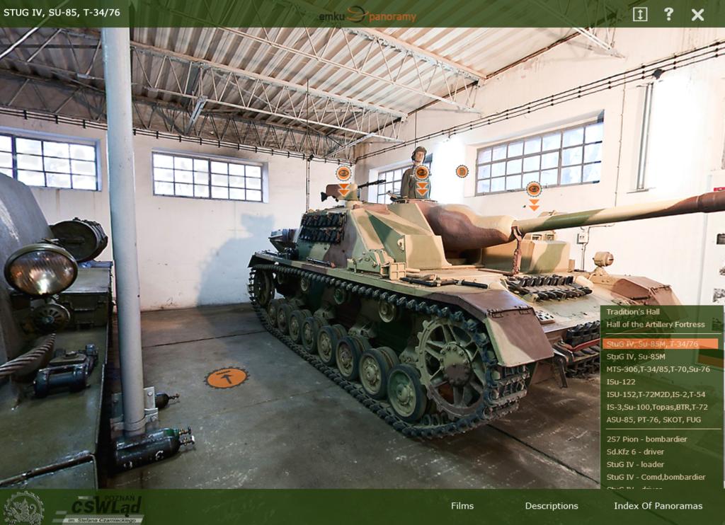 Специально для фанатов WOT =) Виртуальная экскурсия по музею бронетехники
