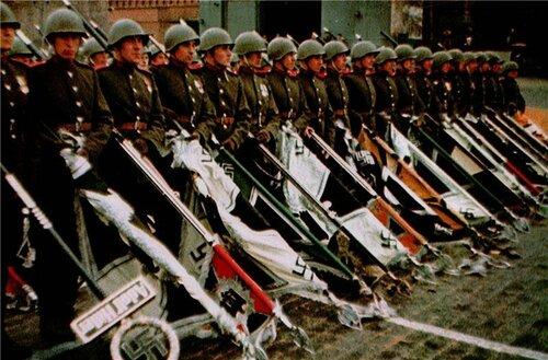 Советская армия на параде Победы