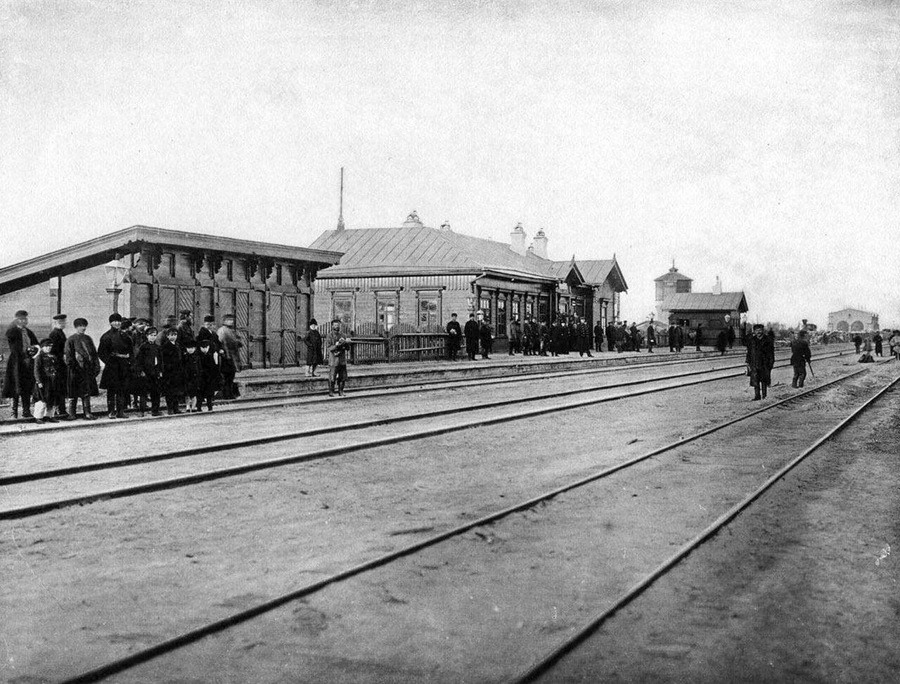 Станция Шумиха.