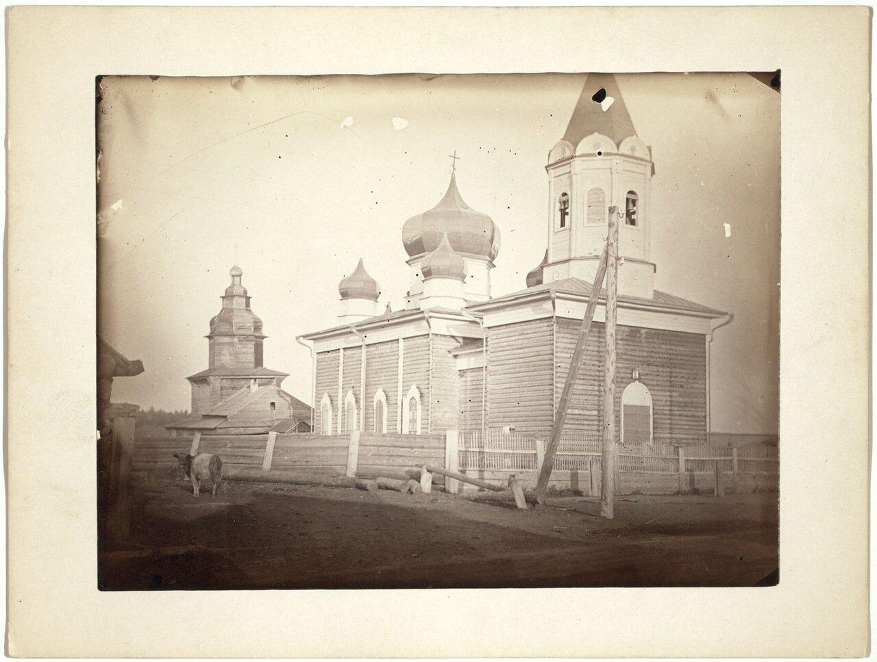Церковь в небольшой деревне недалеко от Иркутска.