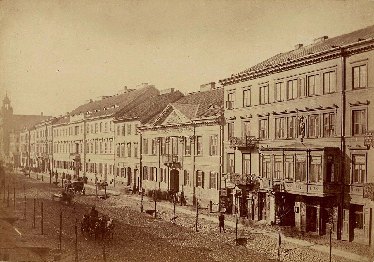 Улица Лешно 1870