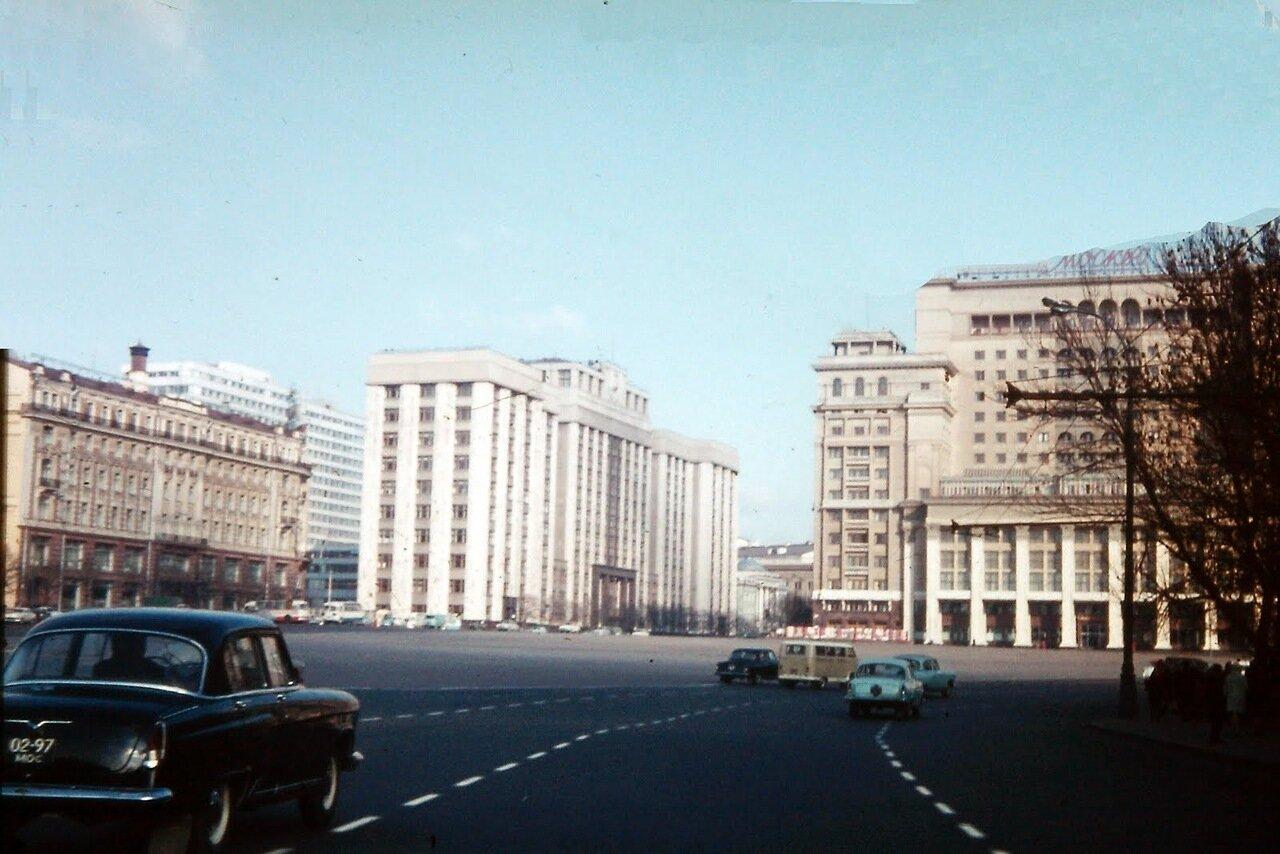 MOSCOU - La place du Manège