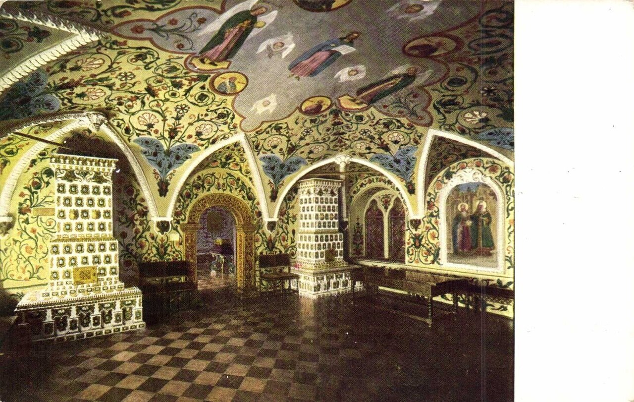 Кремль. Столовая в Теремном дворце