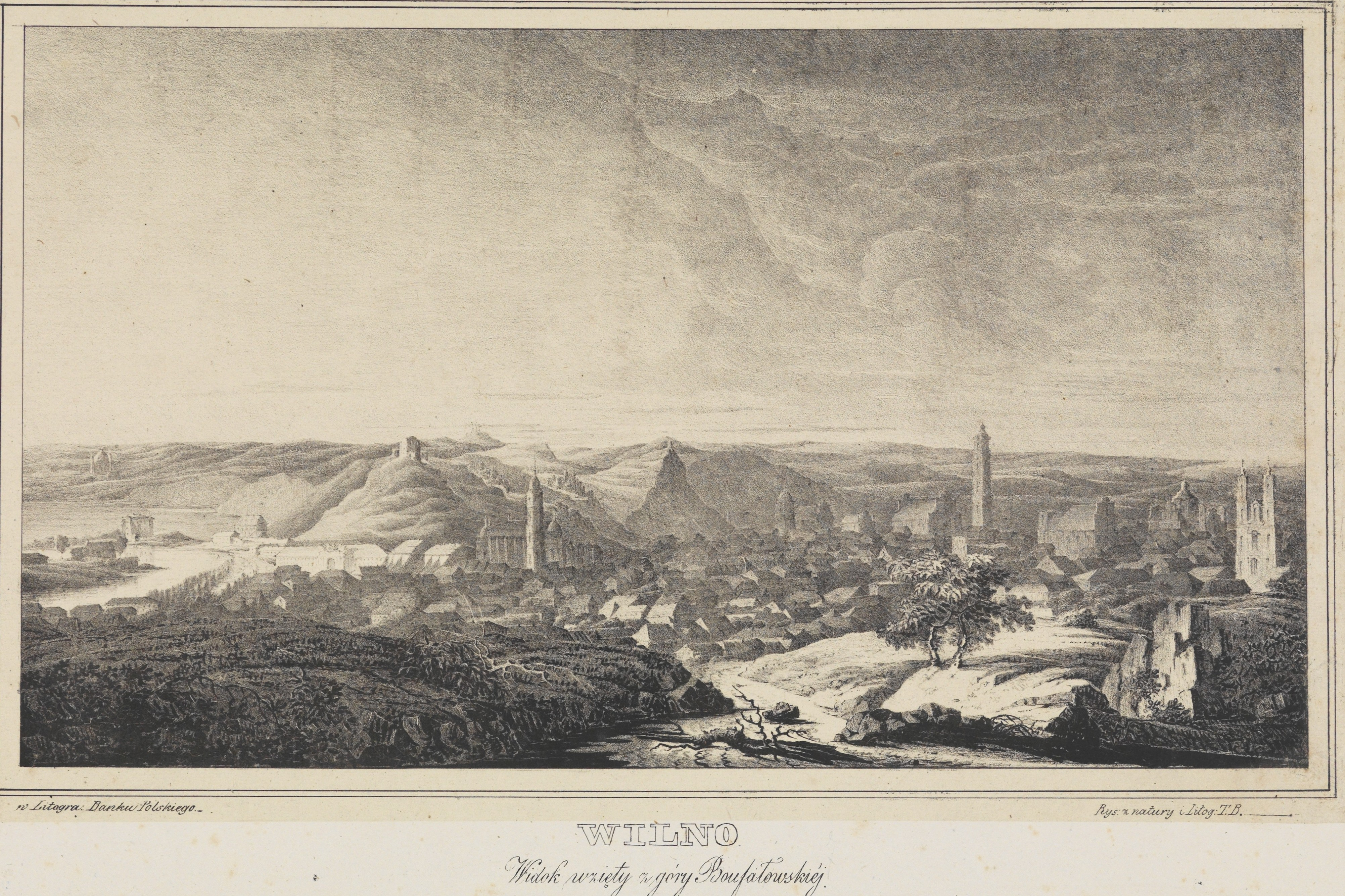 Общий вид. 1829.