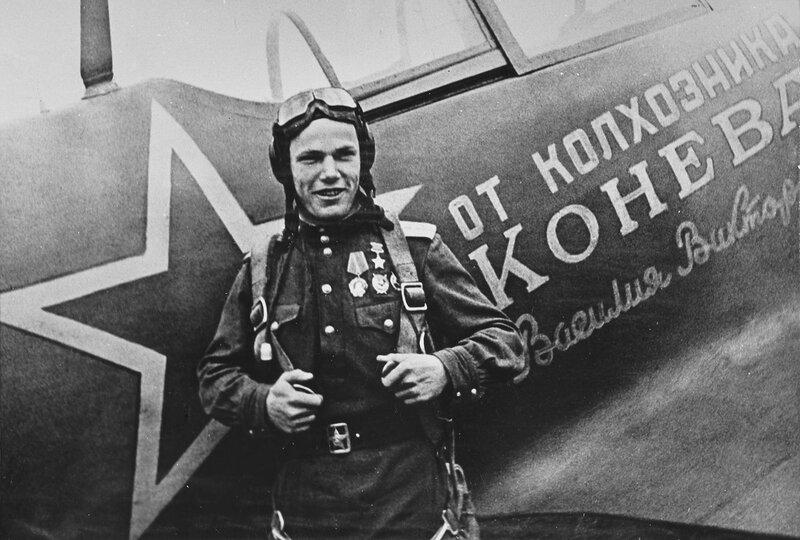 Иван Кожедуб, советская авиация, авиация войны, авиация Второй мировой войны, сталинские соколы