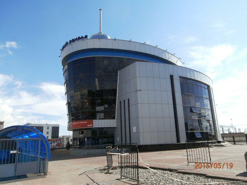 Пригородный вокзал ст. Челябинск-Гл.