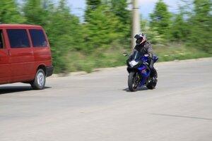 Полиция в Молдове проводит проверку двухколесного транспорта