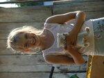 сельская девочка