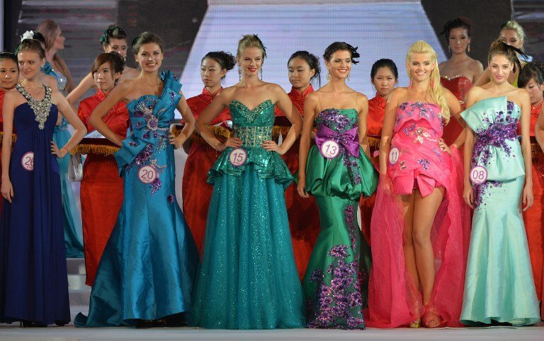 ENTERTAINMENT-CHINA-MODEL-AWARDS