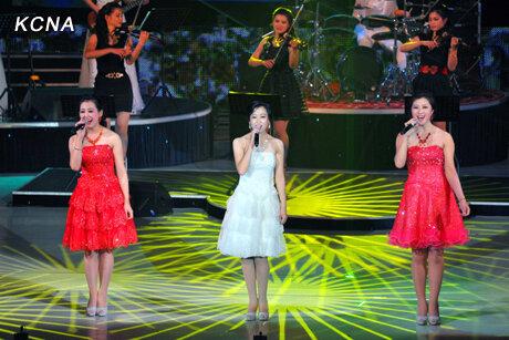 Первая поп группа в КНДР