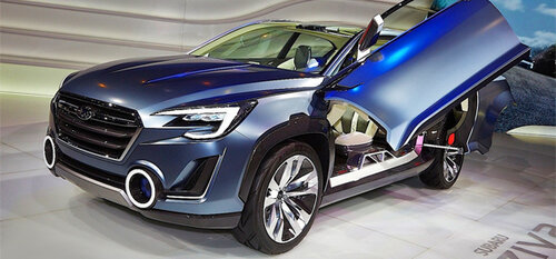 Разработка Subaru Viziv 2 станет базой для Tribeca