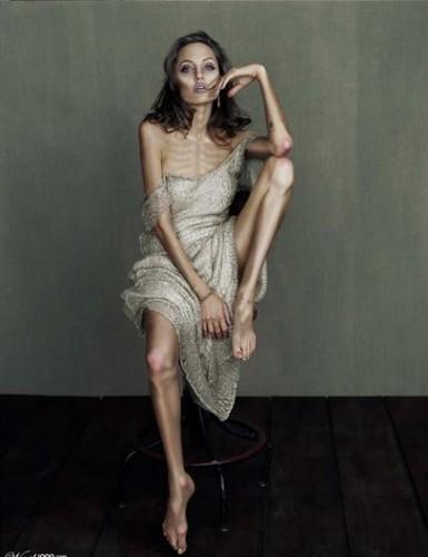 фото джоли анорексия