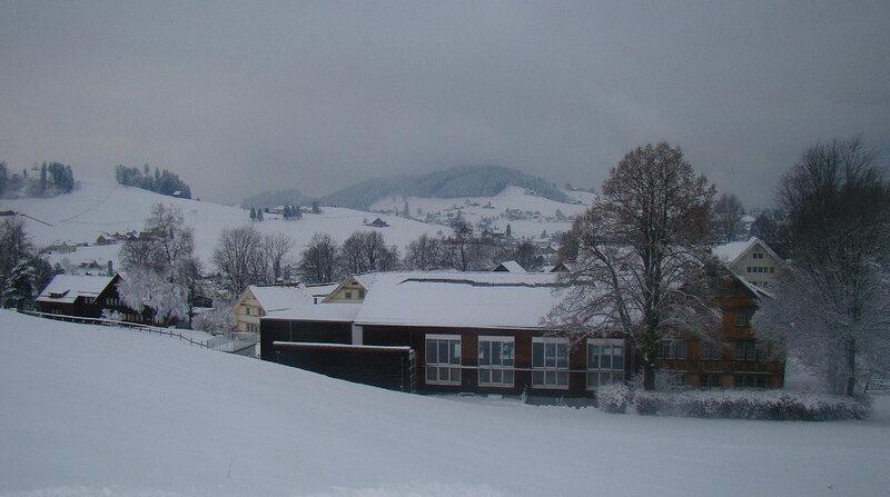 Швейцария -декабрь 2012