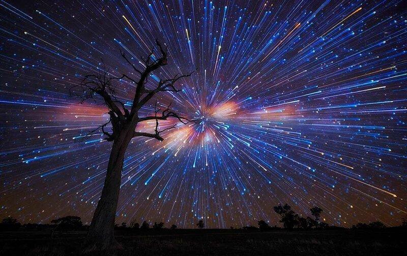 звездное небо штат виктория